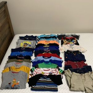 Huge lot of 3T and 4T Clothing